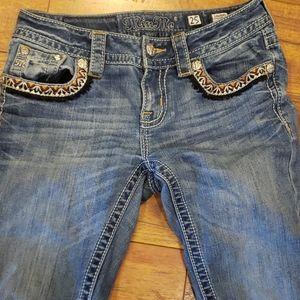 Miss Me Jeans signature Boot Cut Size 25x34